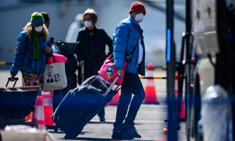 Photo of הנוסע השלישי של נסיכת היהלום, גבר יפני בן 80, נפטר לאחר הסגר