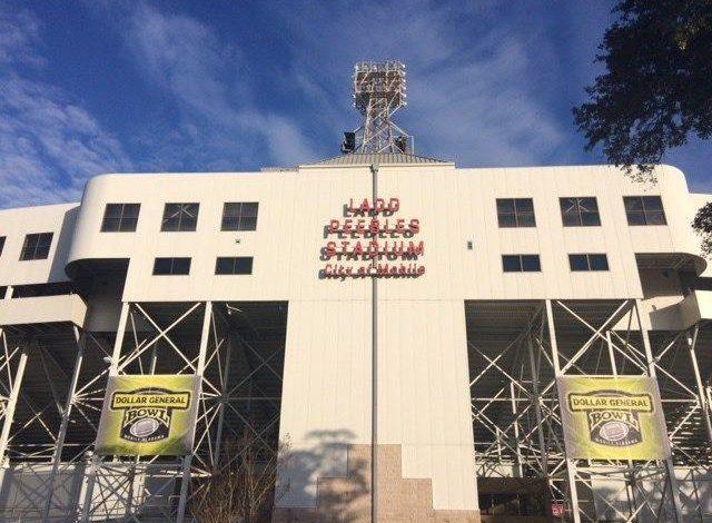 "Photo of אצטדיון Ladd-Peebles מגיב למעבר הבכיר של קערה לקמפוס ארה""ב"