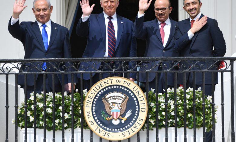 "Photo of שותפים ביטחוניים גדולים: ארה""ב מברכת את בחריין, איחוד האמירויות הערביות לאחר העסקה בישראל"
