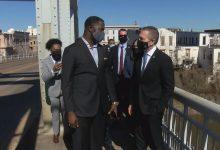 "Photo of הסיור של שגריר ישראל בארה""ב כולל עצירה בסלמה"
