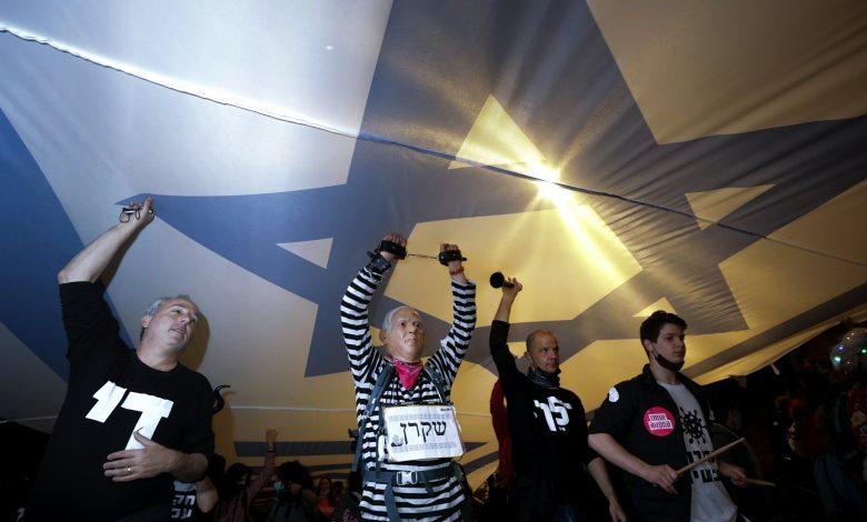 Photo of אלפים מפגינים נגד נתניהו של ישראל לקראת ההצבעה