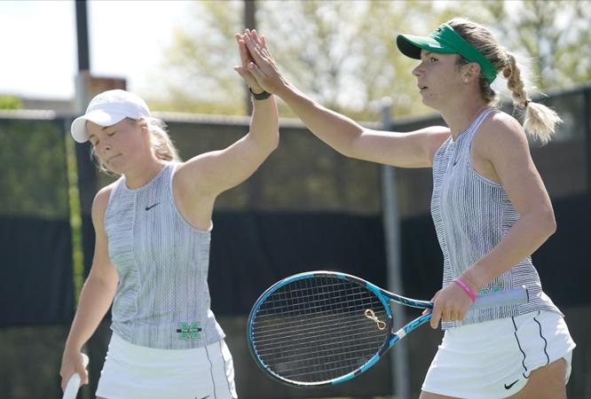 Photo of טניס העדרים מול WKU בסיבוב הראשון באליפות C-USA – אתלטיקה באוניברסיטת מרשל