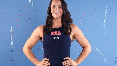 "Photo of כוכב פולו המים של צוות ארה""ב מגי סטפנס אומרת איך בונד של הקבוצה עזר לה להתמודד עם עיכוב האולימפיאדה"