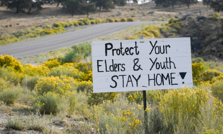 Photo of מודאג מה- COVID-19, Navajo Nation מתעלם מ- CDC, שומר על מסכות והתרחקות חברתית