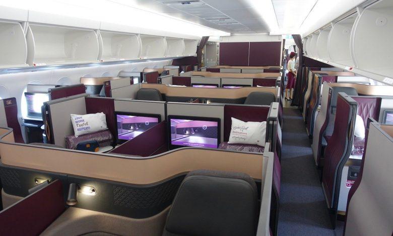 "Photo of Qsuit Great Qatar Airways מחירי הנסיעה מארה""ב | מייל אחד בכל פעם"