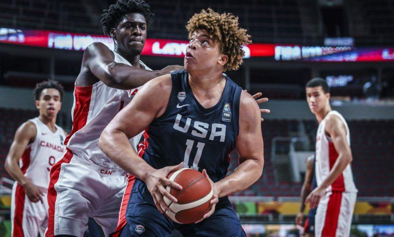 """Photo of לופטון ג'וניור מוביל את כדורסל ארה""""ב למשחק מדליות זהב"""
