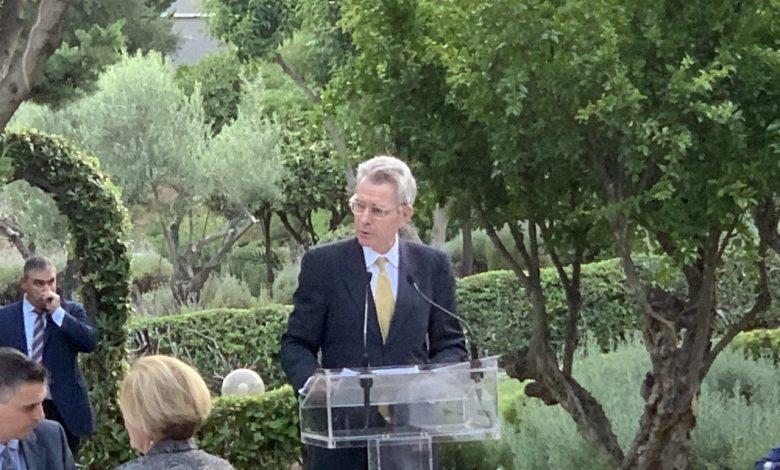 """Photo of דברי השגריר פיאט בתערוכת ההגנה באתונה (DEFEA) 2021 קבלת ביתן ארה""""ב בארה""""ב   שגרירות וקונסוליה של ארה""""ב ביוון"""